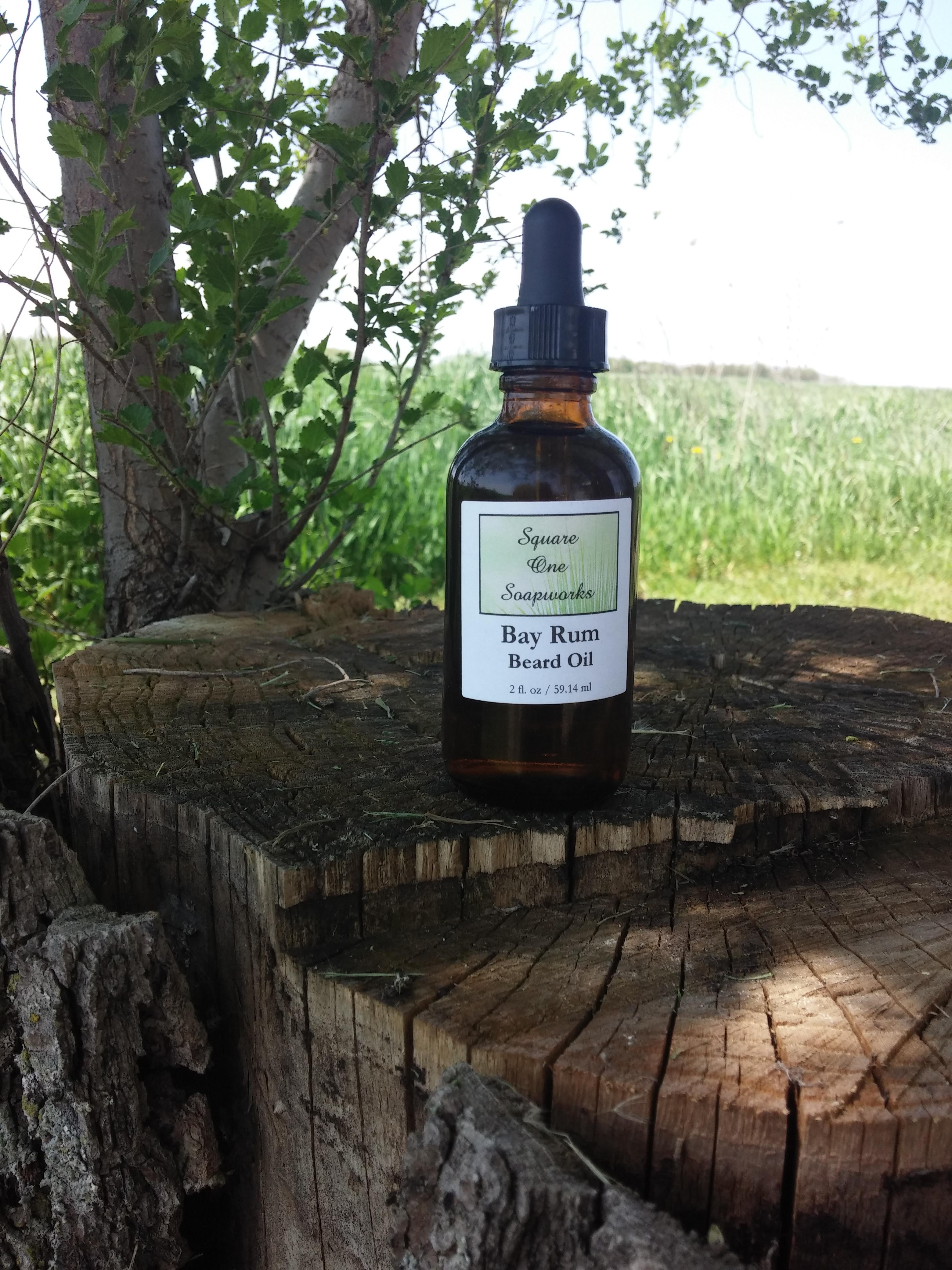 Bay Rum Beard Oil - Square One Soapworks