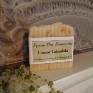 Creamy Calendula Full-Size Soap Bar - Square One Soapworks