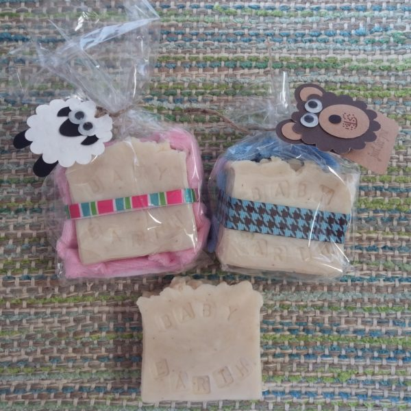 Baby Earth Soap & Washcloth Set - Square One Soapworks