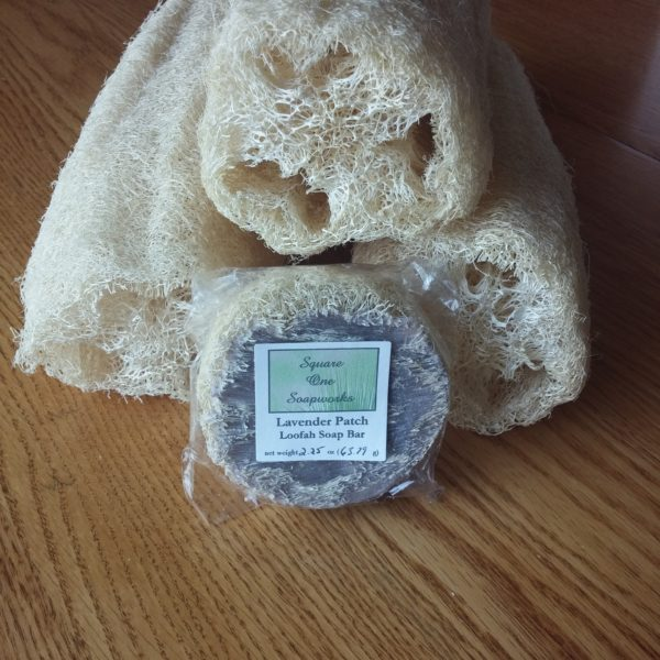 Lavender Patch Loofah - Square One Soapworks