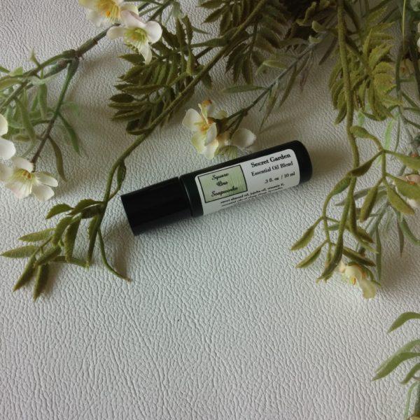 Secret Garden Roll-On Perfume - Square One Soapworks