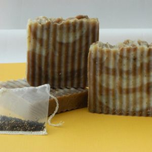 SerendipiTea Full-Size Soap Bar - Square One Soapworks