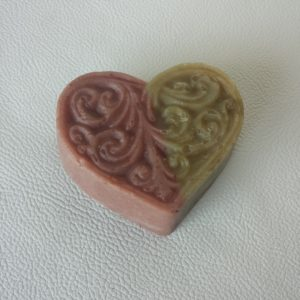 Decorative Heart Shaped Soap - Square One Soapworks