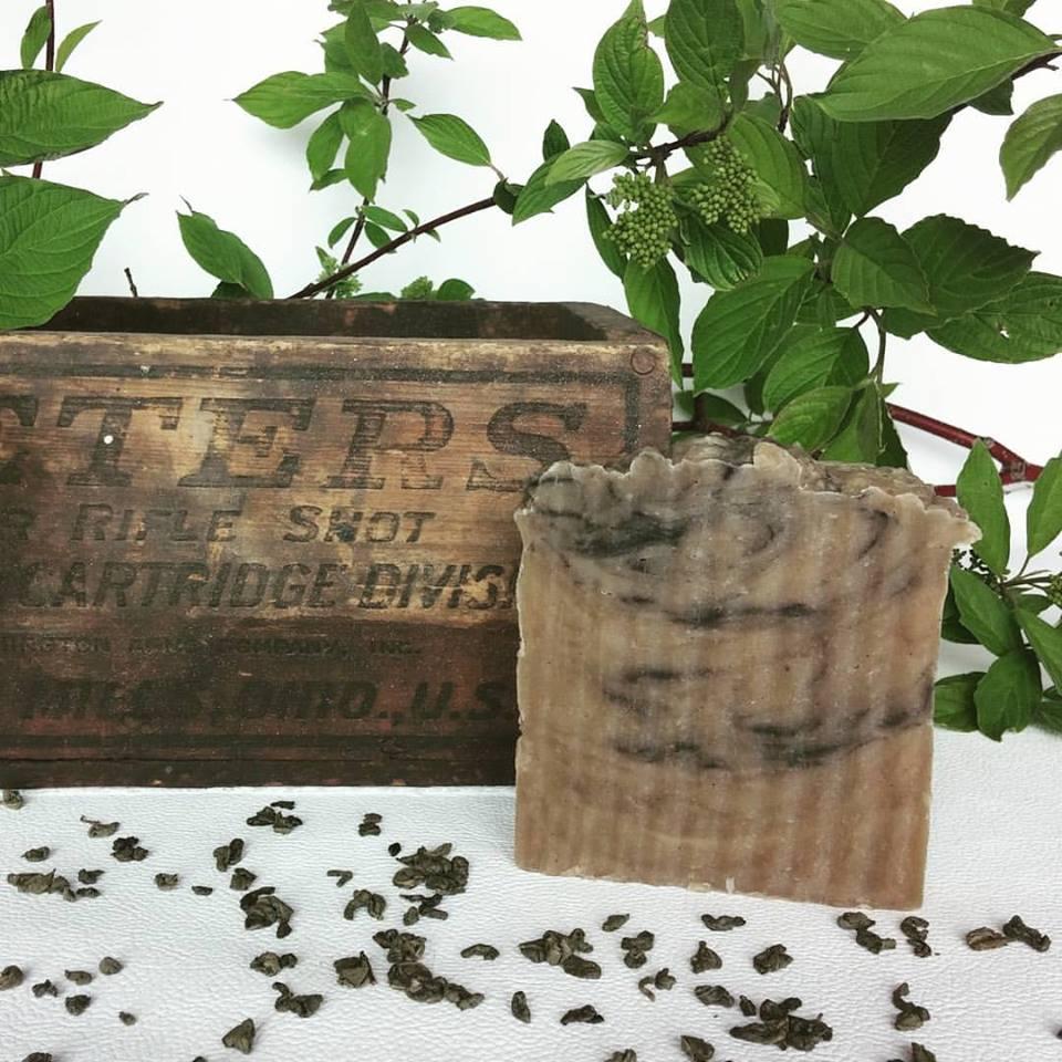 Gunpowder Full-Size Soap - Square One Soapworks