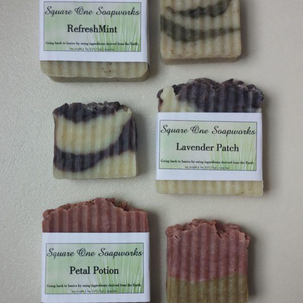 Mini Soap Bars - Square One Soapworks