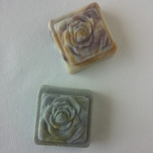 Square Roses - Shaped Soap -Square One Soapworks